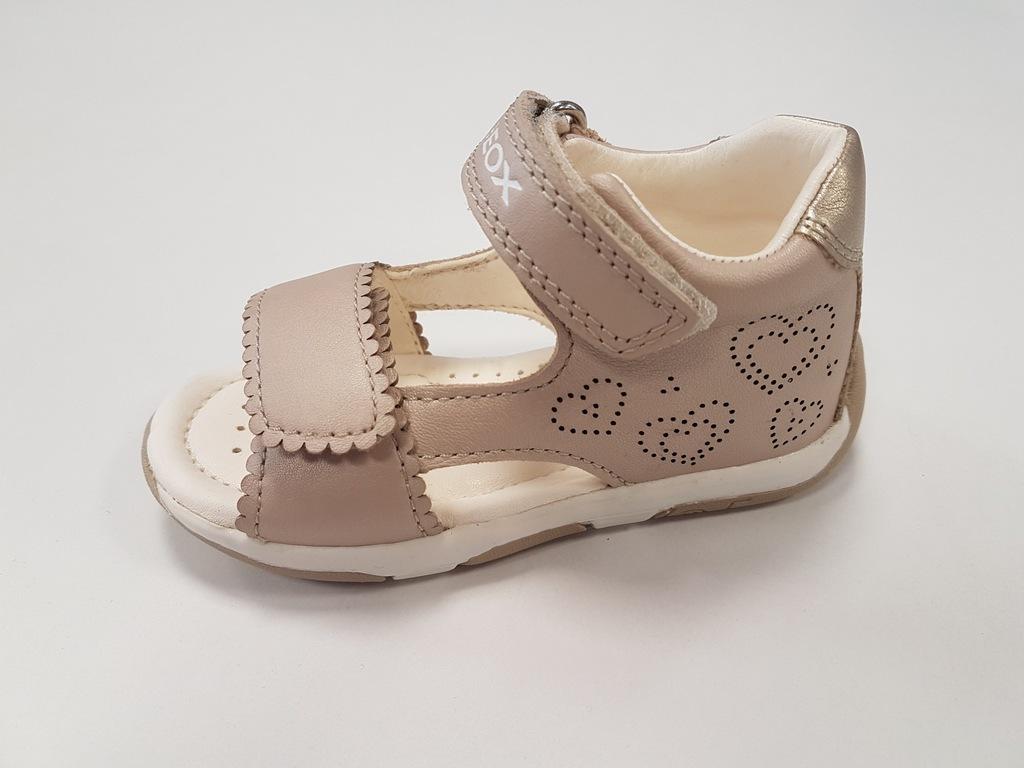 %%%GEOX B820YB sandałki,sandały letnie beżowe R 21