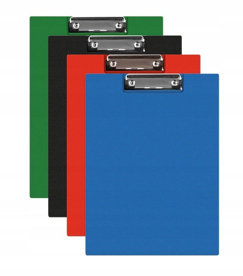 Clipboard teczka PVC A5 mix podkład z klipem