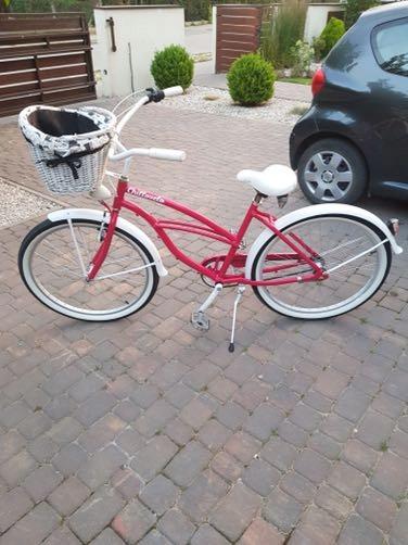 Miejski rower damski