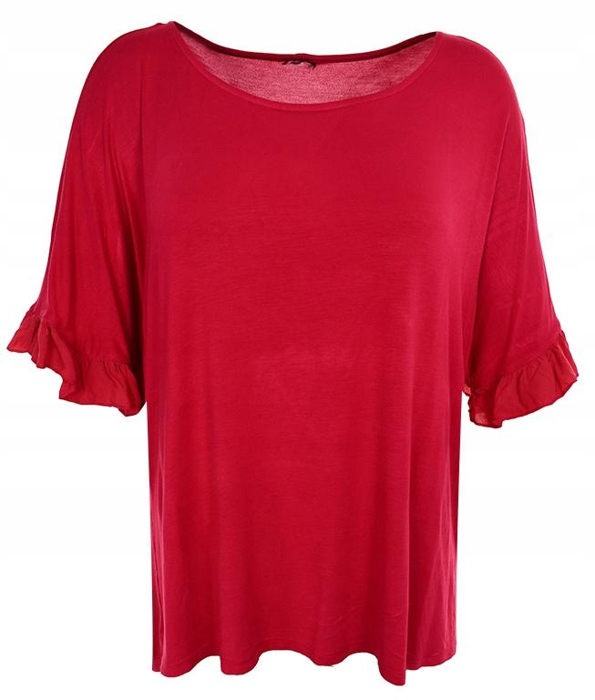 Gatta t shirt bluzka krótki rękaw damska klasyczna, taliowana