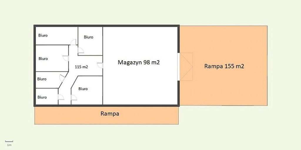 Hala magazynowa - Szczecin, Centrum, 213,00 m²