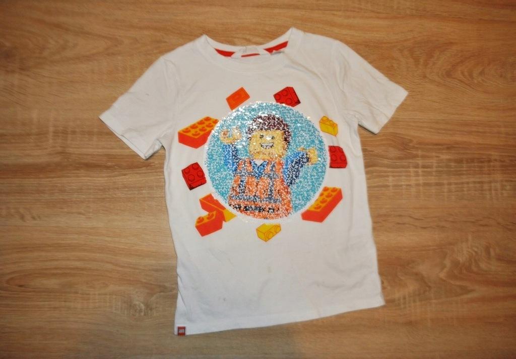 H&M świetna koszulka LEGO BATMAN 122-128