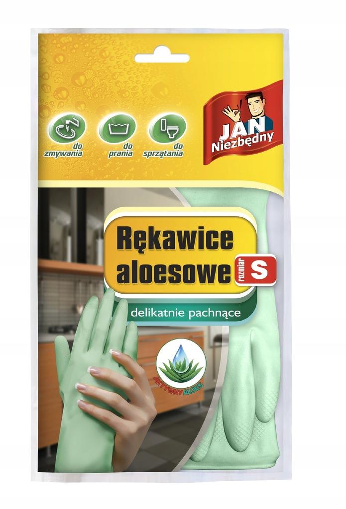 Jan Niezbędny rękawice aloesowe rozmiar S