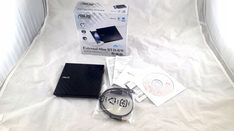 NAPĘD DVD-REC ASUS SDRW-08D2S JAK NOWY!!!