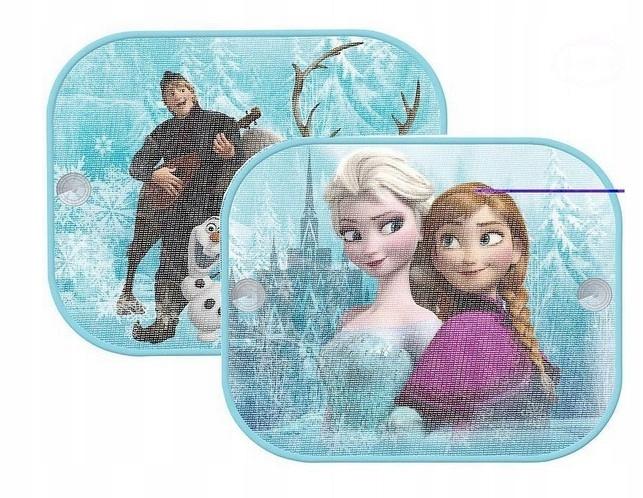Zasłonki osłonki przeciwsłoneczne 2szt Frozen