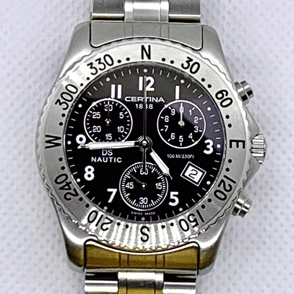 CERTINA DS NAUTIC C542.7118.42.69 zegarek męski