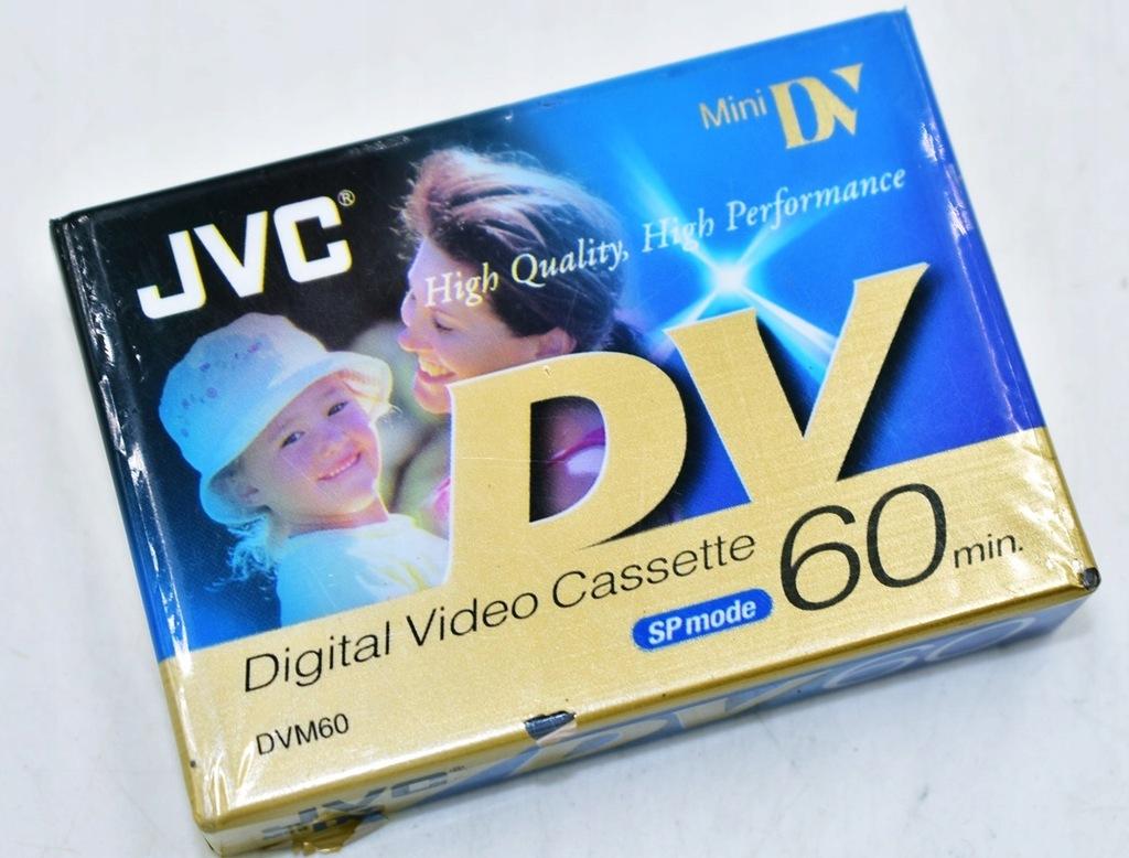 5815-3 ...JVC MINI DV... p#s KASETY VIDEO NOSNIKI