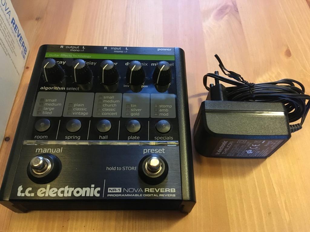TC ELECTRONIC T.C. Electronic NR-1 Nova Reverb