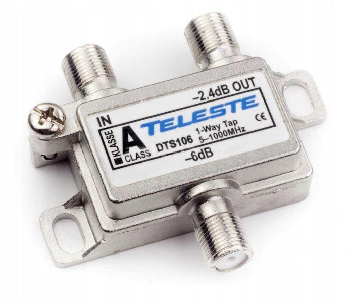 Spliter multitap odgałęźnik TELESTE DTS106 * NOWY