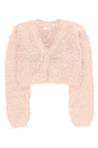 next sweterek bolerko miękki Nowy r.122 128