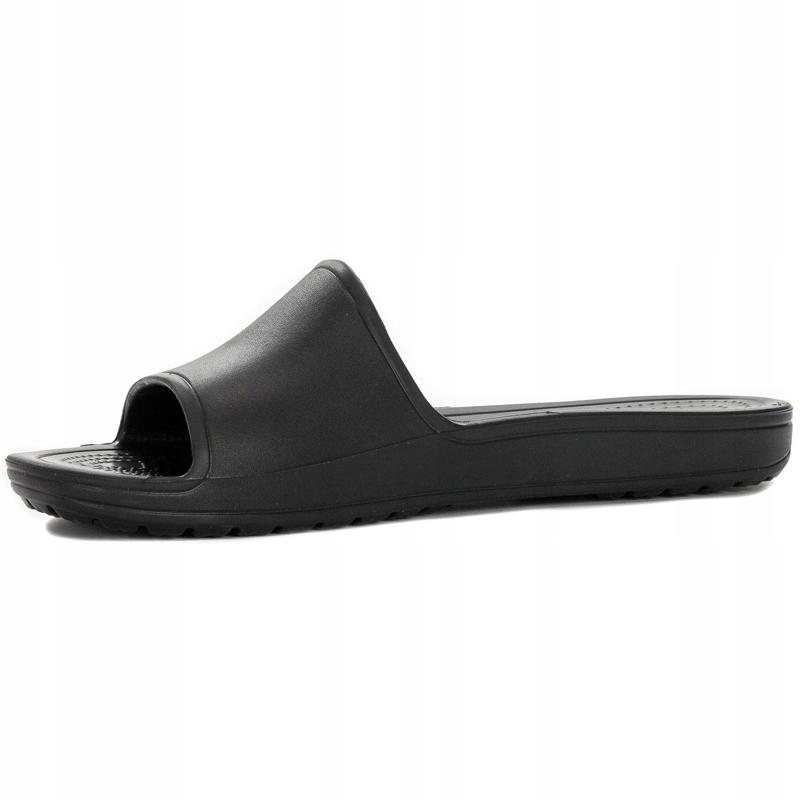 Klapki damskie Crocs r.3637 czarne 205742 001