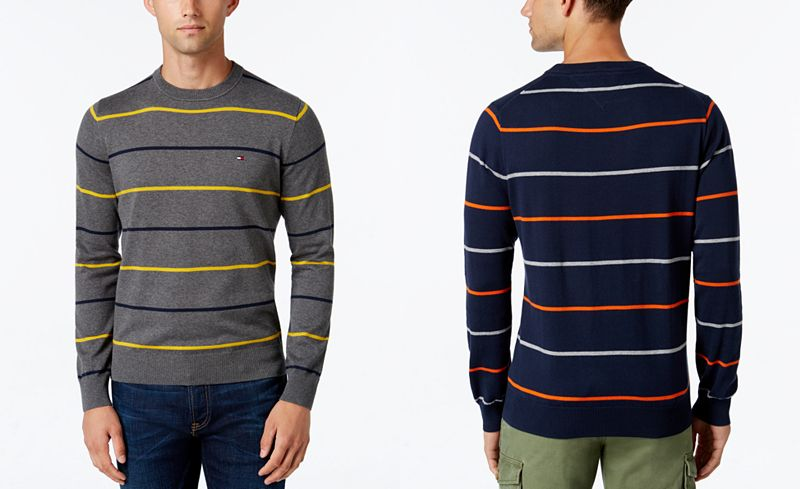 Tommy Hilfiger sweter męski 148 cm pod pachą XXXXL
