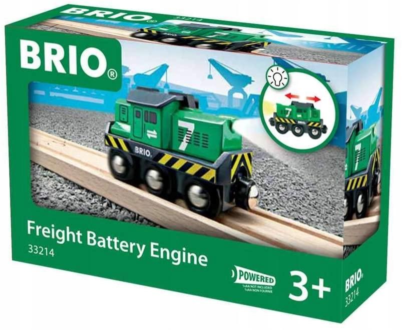 Akumulatorowa lokomotywa towarowa BRIO Bahn 33214