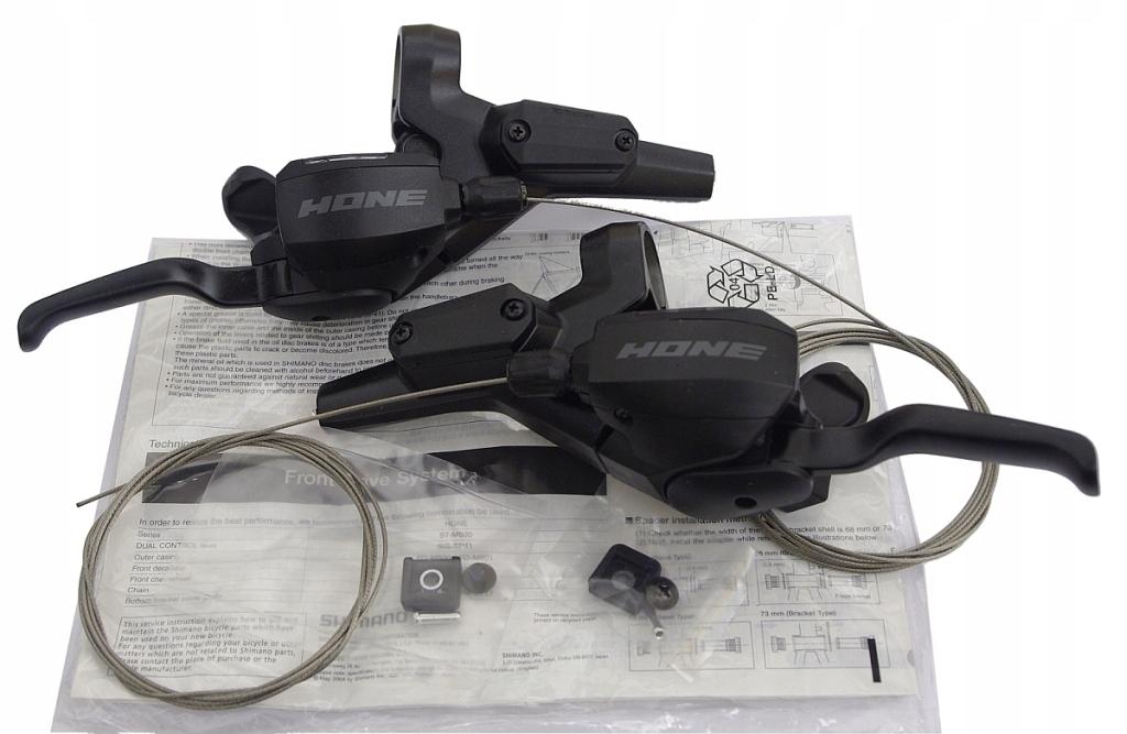 KLAMKOMANETKI SHIMANO HONE ST-M600 3x9 DUALCONTROL