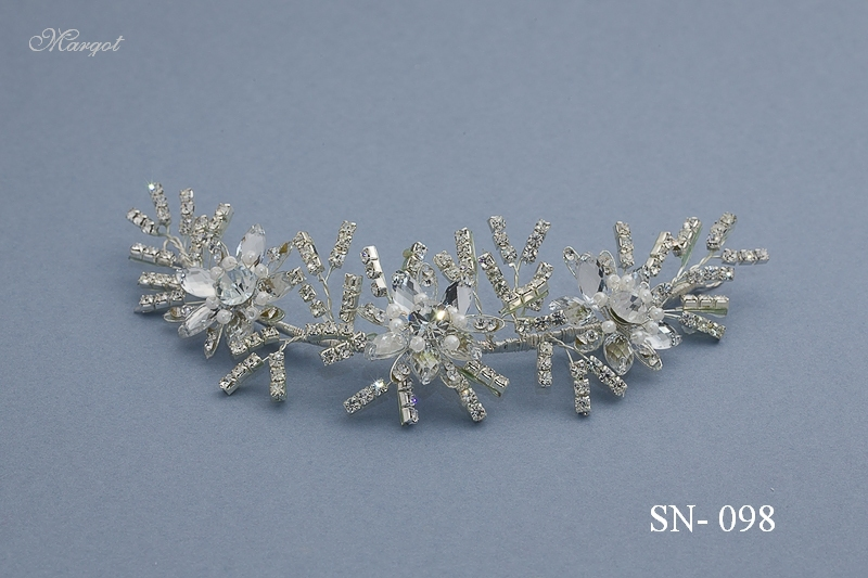 Stroik ślubny SN098 - fryzury ślubnej, głowę