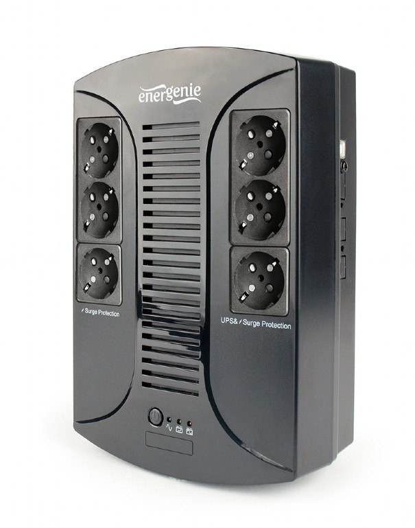UPS 850VA Regulacja AVR 6 gniazd/port USB