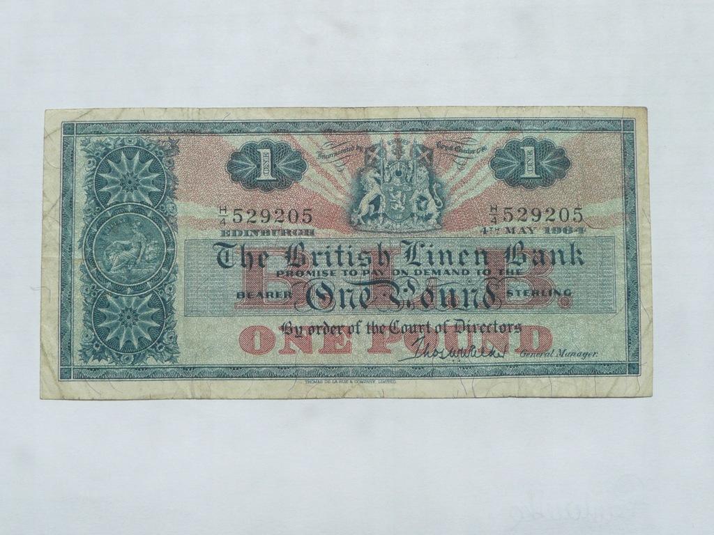 1 funt Szkocja