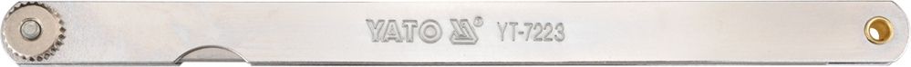 Yato szczelinomierz 200mm 14listków 0,05-0,5m
