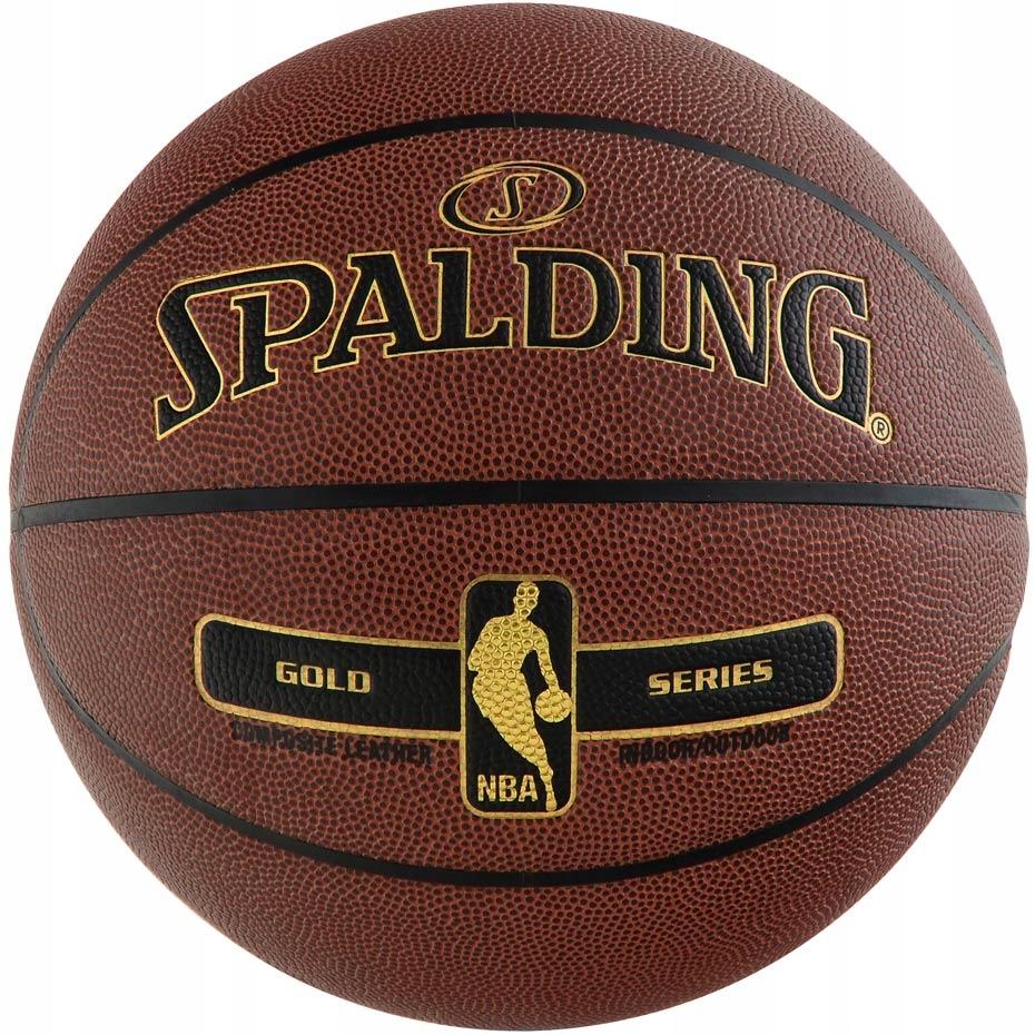 Piłka Koszykowa Spalding NBA Tack Soft Gold 2017 7