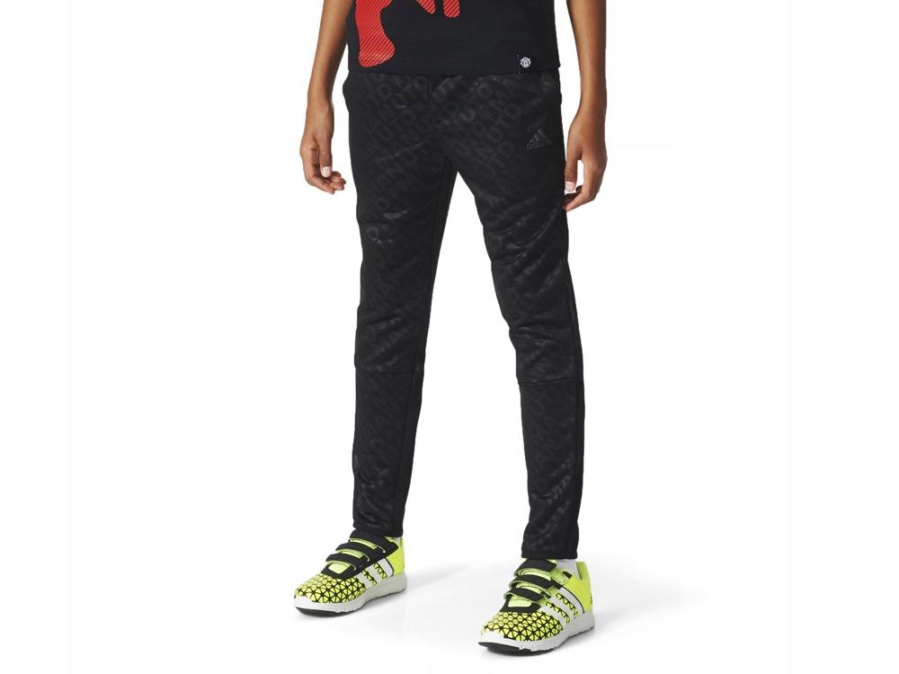 ADIDAS dresowe spodnie chłopięce dresy AJ5778 176