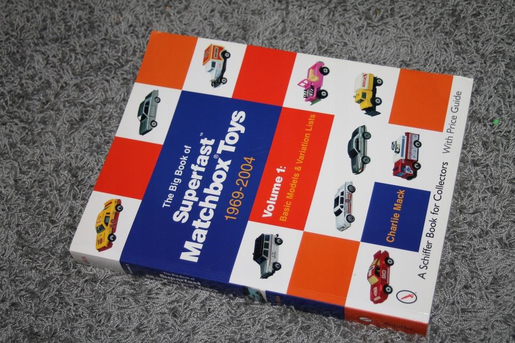 MATCHBOX SUPERFAST 1969-2004r WIELKA KSIĘGA