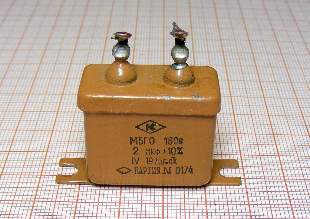 Kondensator 2uF 160V [M1-S80]10