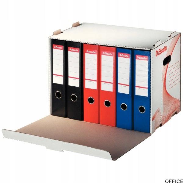 Pudło archiwizacyjne otwierane z przodu białe ESSE