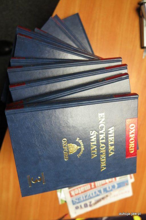 Oxford Wielka Encyklopedia Oxfordzka - 18 tomów