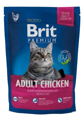 Brit Premium Cat New Adult Chicken 800g