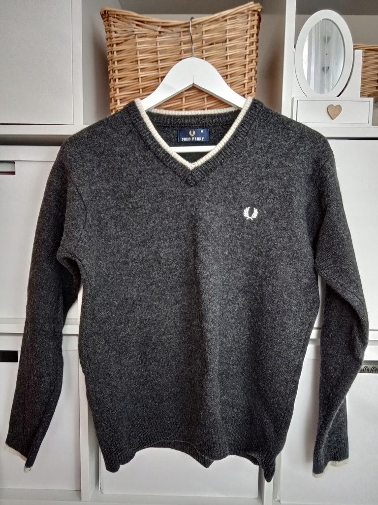 FRED PERRY sweter męski rozmiar M