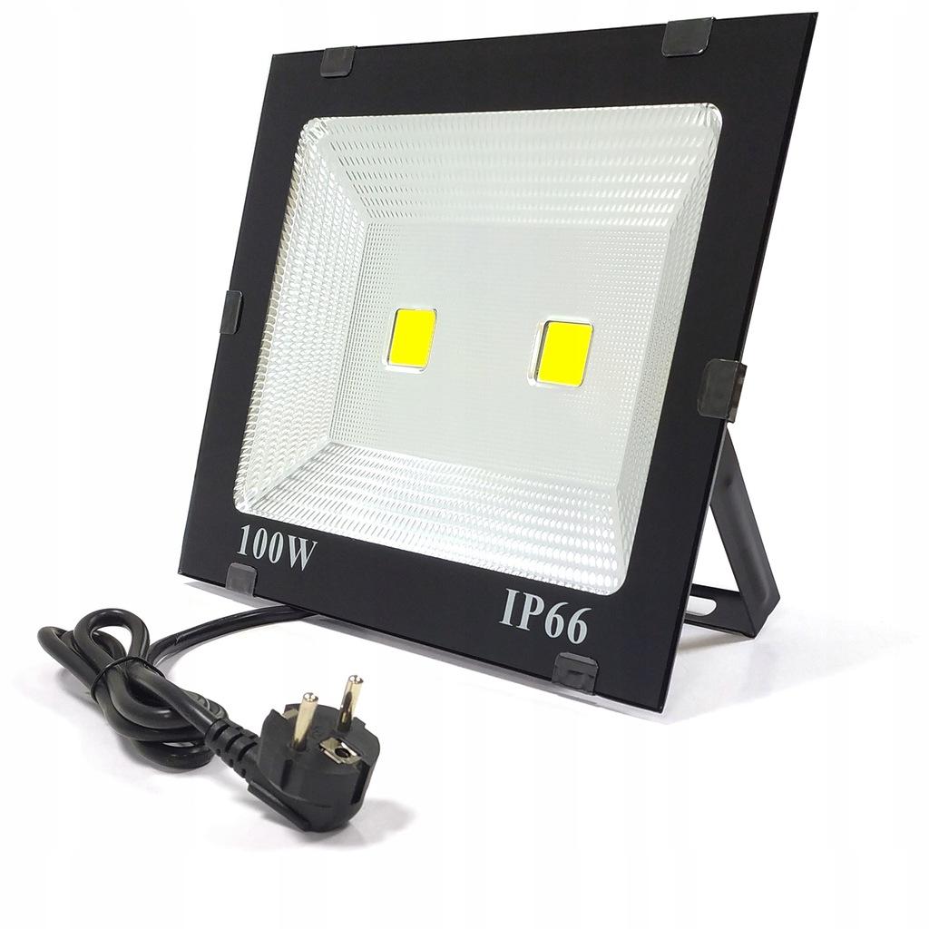 HALOGEN LAMPA NAŚWIETLACZ LED 100W=1000W Z WTYCZKĄ