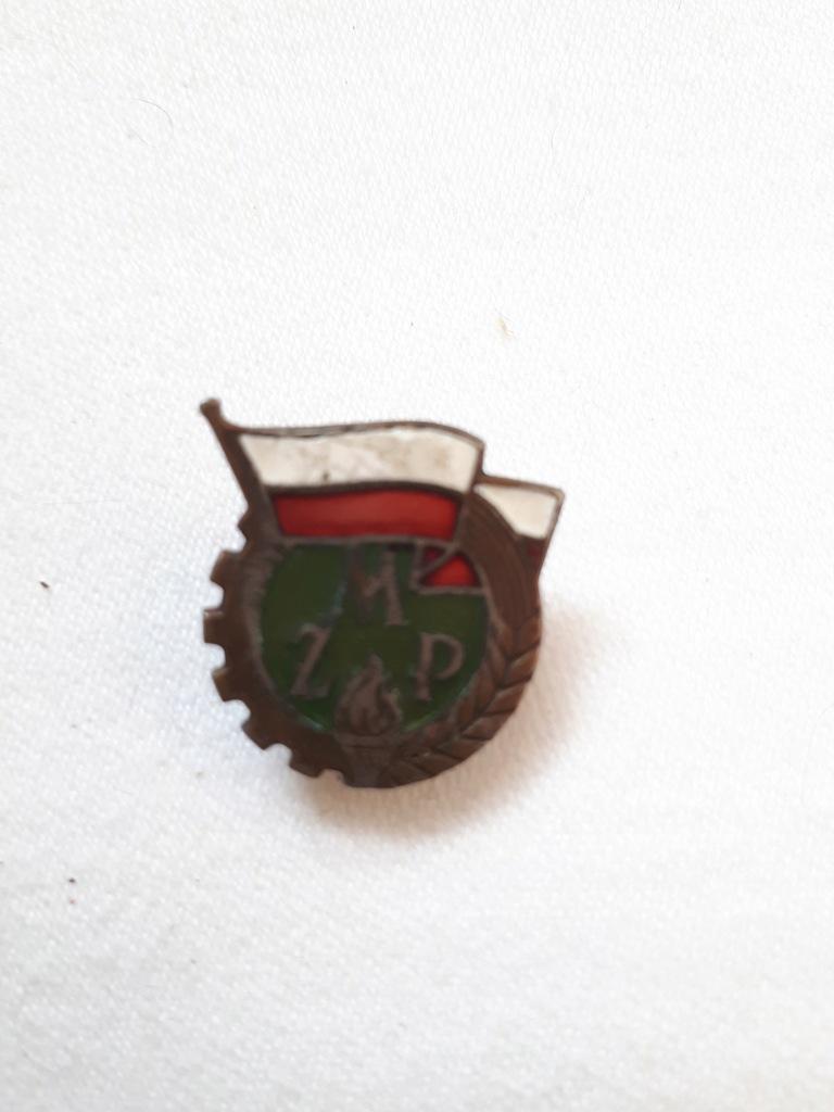 Przypinka odznaka ZMP Związek Młodzieży PRL