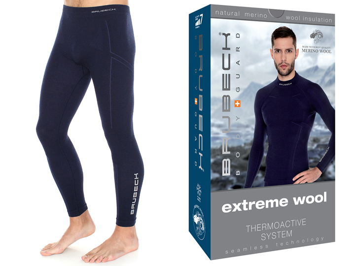 BRUBECK Getry na narty Extreme Wool LE11120 L-gr
