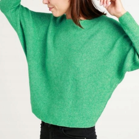 UNISONO sweter oversize włoski S M L