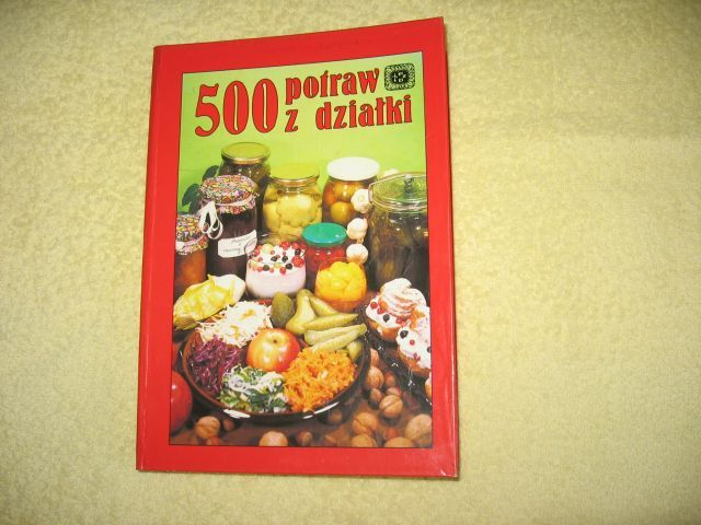 500 potraw z działki