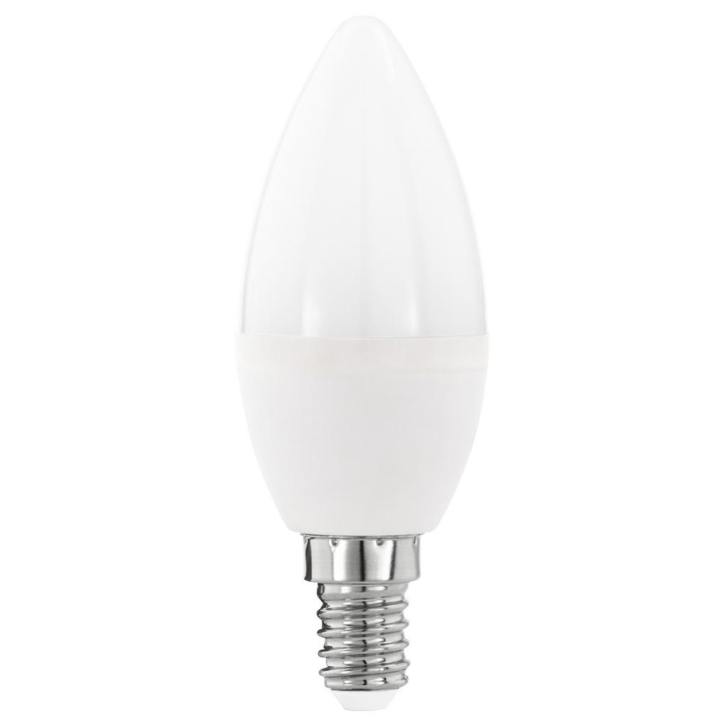 Żarówka LED 230V 7W/E14 świeczka barwa zimna