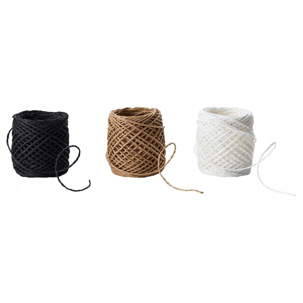 Wstążka sznur do prezentów ozdób przetworów 3x15m