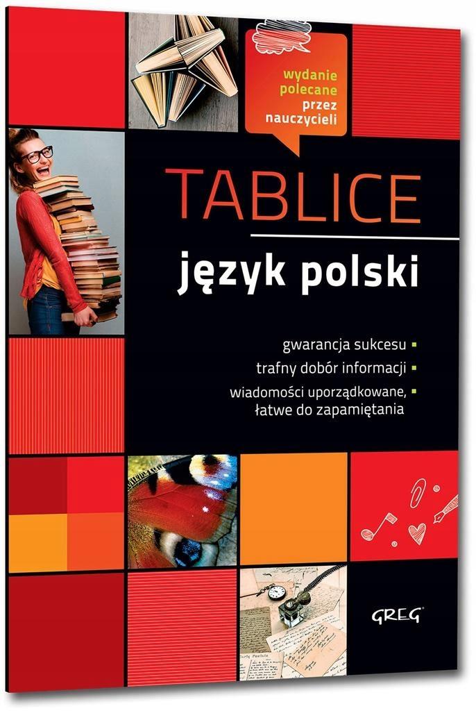 Tablice Język polski w.2018 GREG