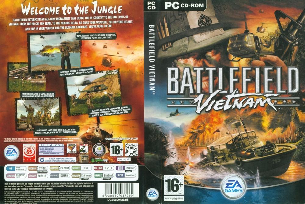 Battlefield Vietnam Pc 2004 7721227394 Oficjalne Archiwum Allegro