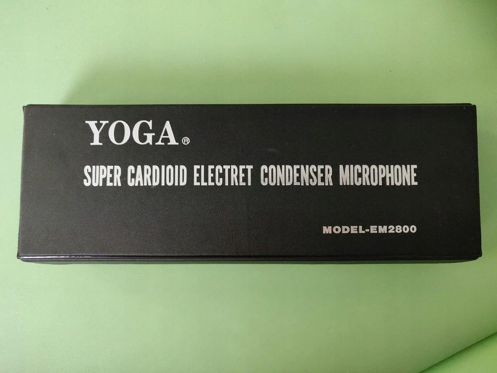 Mikrofon pojemnościowy YOGA EM 2800