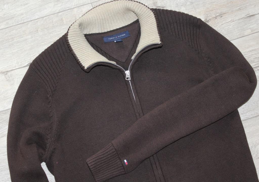 Świetna bluza męska sweter Tommy Hilfiger ideał M