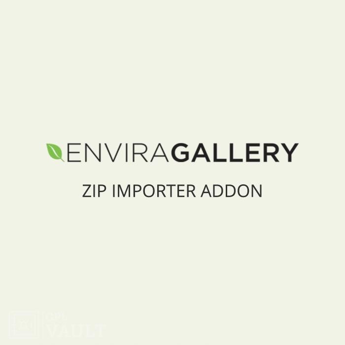 Wtyczka WordPress Envira Gallery Zip Importer