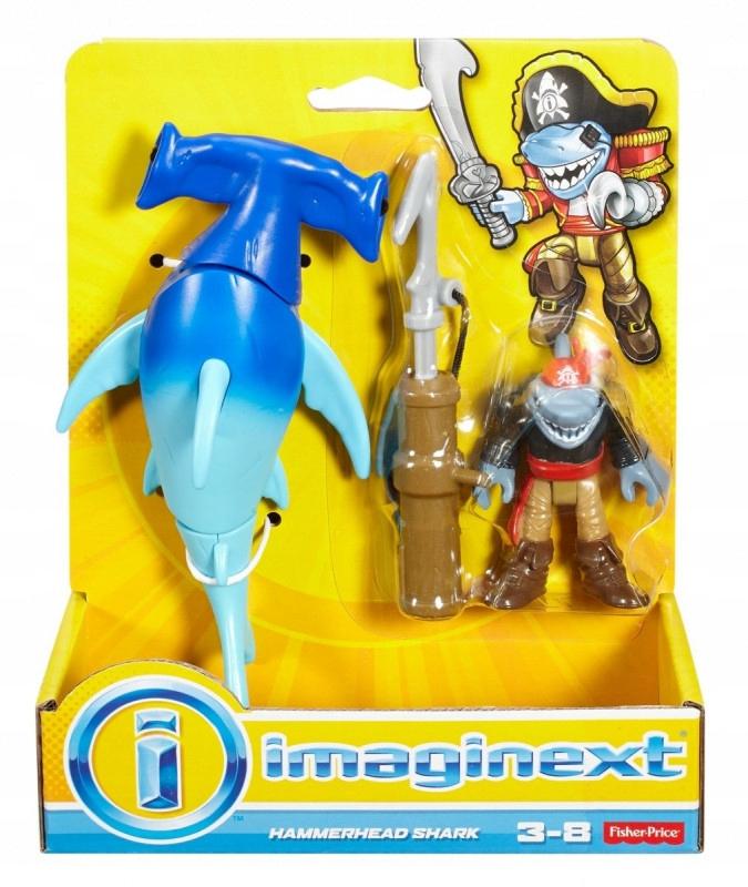 Figurka Piraci Rekin Młot Imaginext