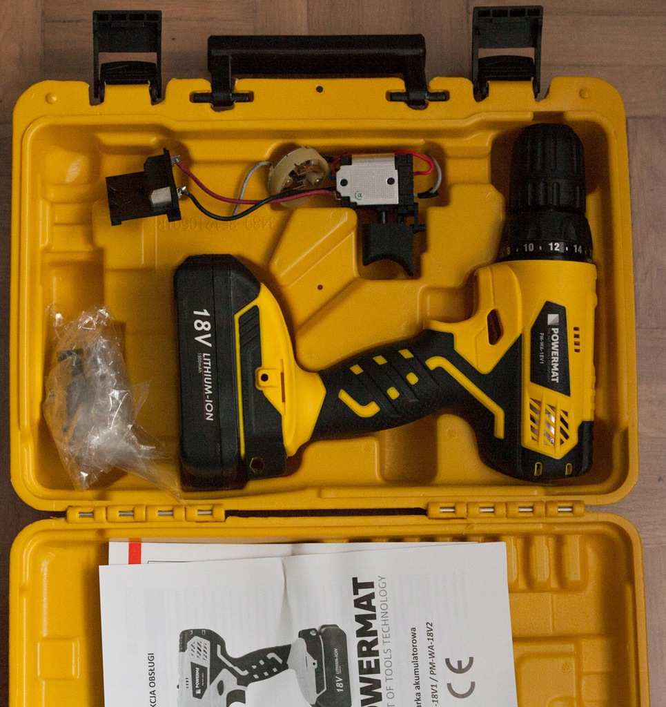 Bateria 18v Powermat Wkretarka Akumulatorowa Uszk 8885548640 Oficjalne Archiwum Allegro