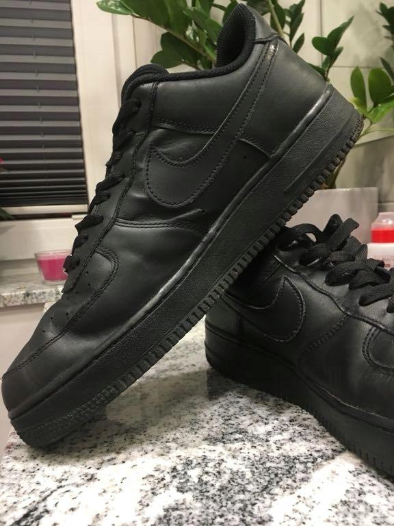 Nike air force 1 BCM af1 jak nowe Oryginał czarne