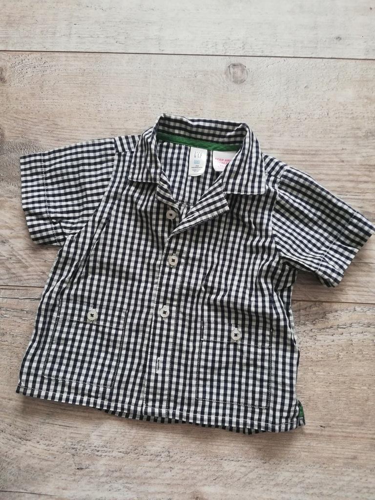 Koszula w krateczke GAP 68 - 74 cm