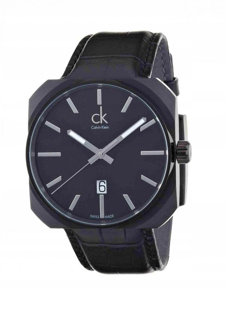 Zegarek CALVIN KLEIN K1R21430 datownik SWISS MADE