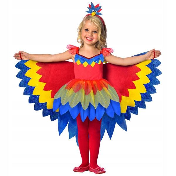 Stroj Piekna Papuga Papugi Kolorowy Ptak 116 8674841435 Oficjalne Archiwum Allegro