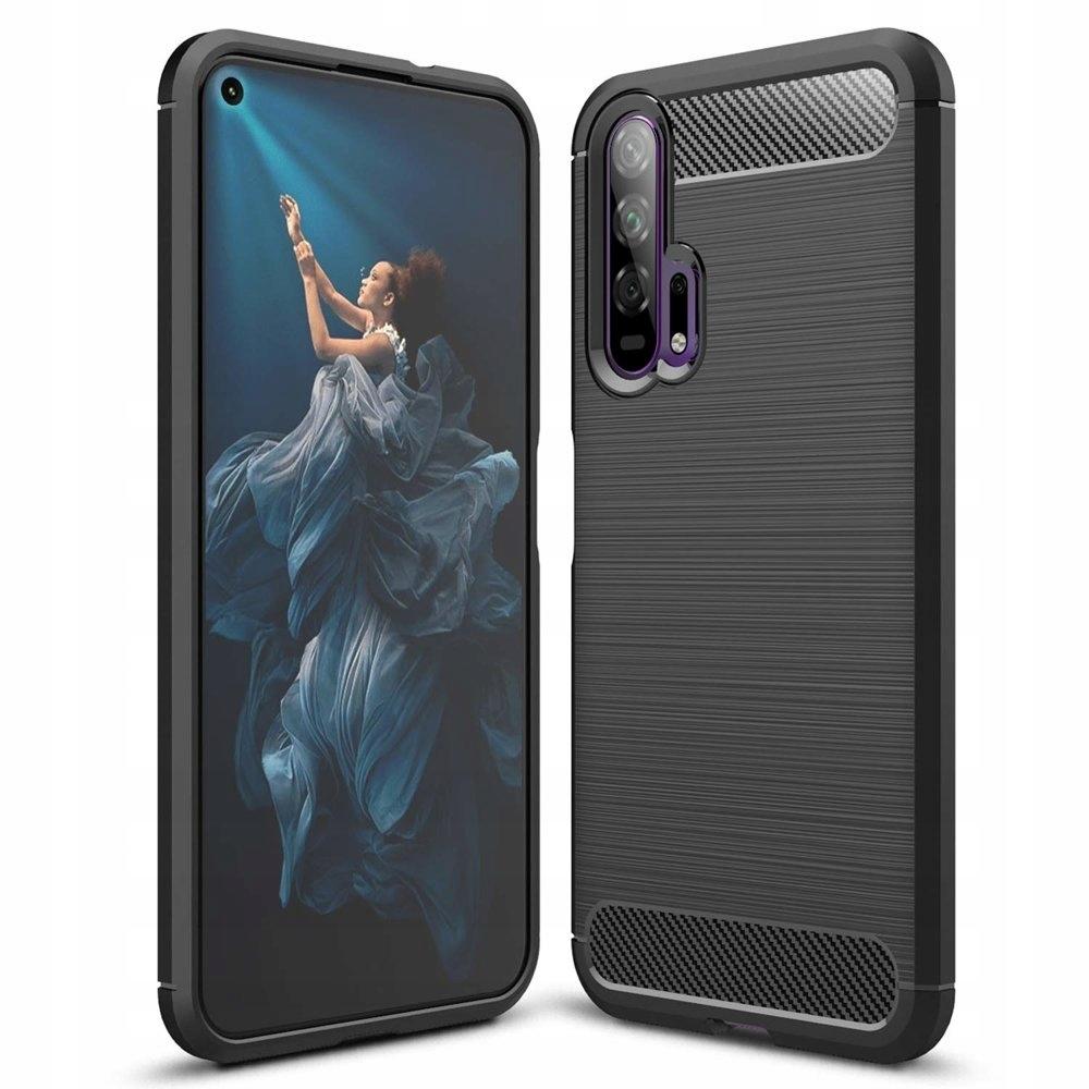 Carbon Case etui Huawei Honor 20 / 20 Pro czarny