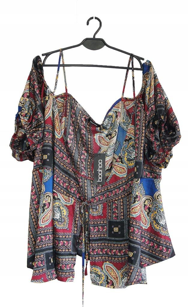 BOOHOO Narzutka damska bluzka rozmiar 50/22 UK